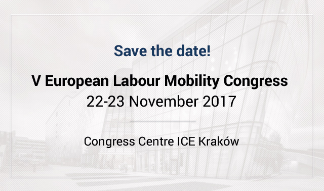 V European Labour Mobility Congress – we know the date!